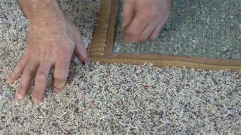 how to repair carpet video ez2do home youtube
