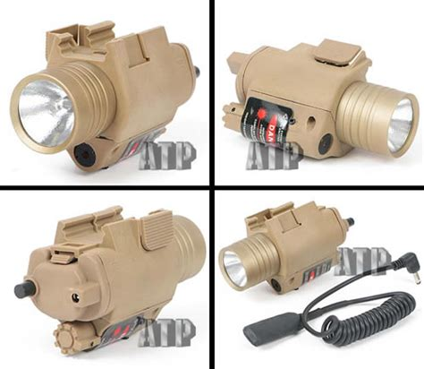Termurah Tactical Airsoft M6 Laser With Flashlight Include m6 tactical flashlight laser popular airsoft