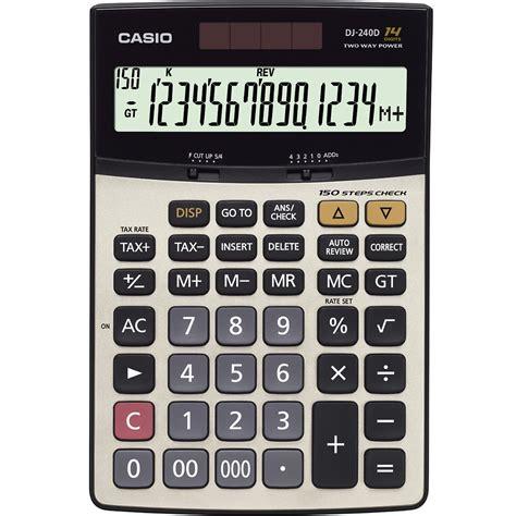 Casio Calculator Mj 12d 綷 寘 綷 dj 240 d persiandata 綷 綷