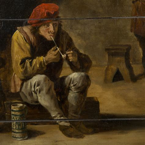 den painting flemish school circa 1800 follower of david teniers