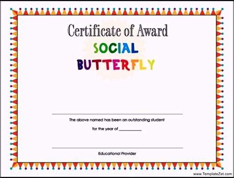 student award certificate template templatezet