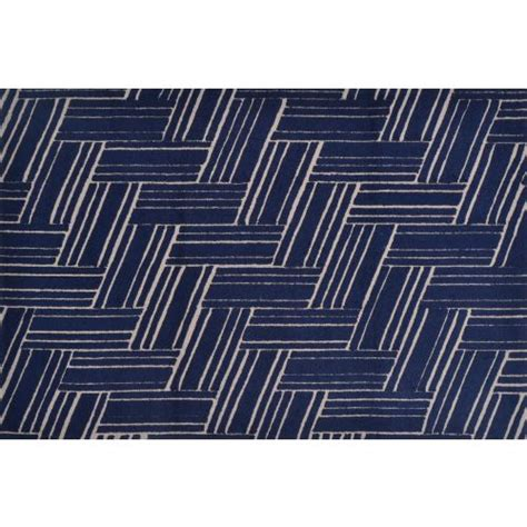 5x8 Indoor Outdoor Rug Braide Stripe Navy Hi Lo Hook Indoor Outdoor Rug 5x8
