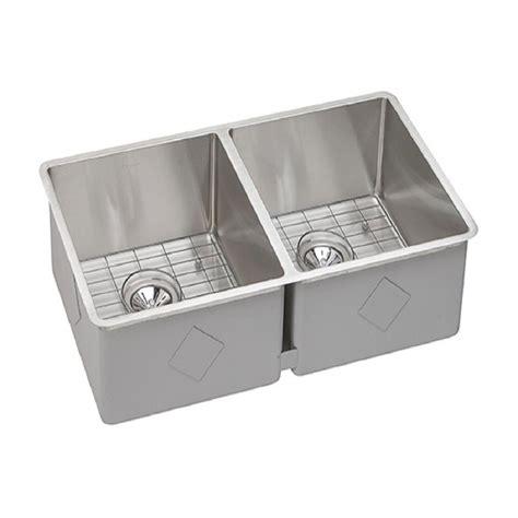Kitchen Sink Kit Elkay Crosstown Undermount Stainless Steel 31 5 In