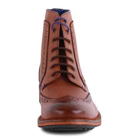 mens all leather boots ted baker sealls 2 mens leather ankle boots new shoes
