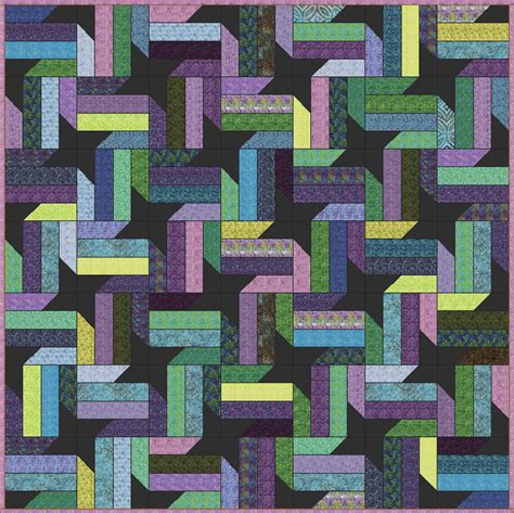 Jelly Roll Patchwork Quilt Patterns - lets quilt something nebula free quilt pattern jelly roll