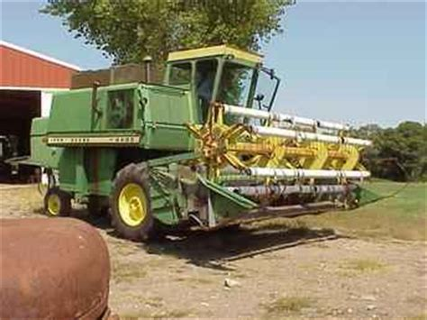 Used Farm Tractors For Sale John Deere 4400 Combine 2003