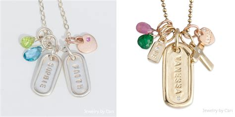 the of composing a jewelry by cari charm necklace
