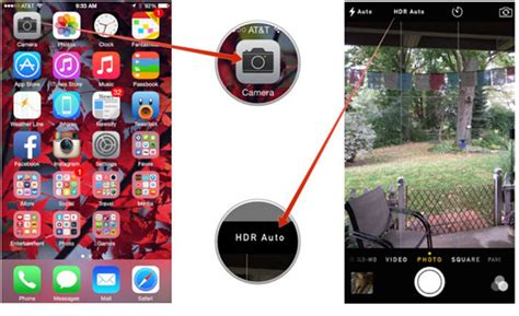 tutorial edit foto hdr iphone how to take iphone hdr photos leawo tutorial center