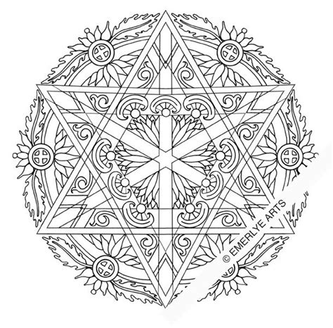 spiritual mandala coloring pages cynthia emerlye vermont artist and kirigami papercutter