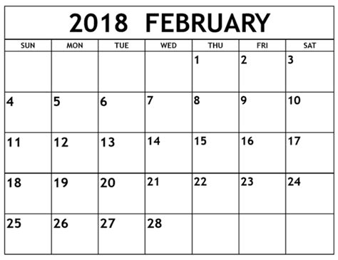 printable yearly calendar 2018 australia february 2018 calendar australia calendar template