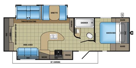 jayco trailers floor plans 2017 white hawk travel trailer floorplans prices jayco