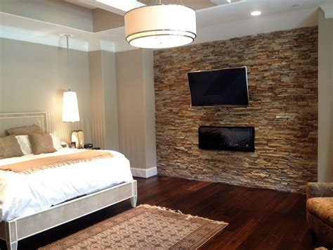 stone wall in bedroom master bedroom virginia ledgestone accent walls