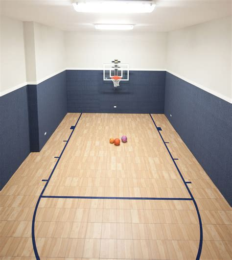 10 basement basketball court ideas a look at some private indoor basketball courts from houzz