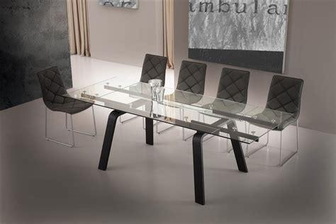 tavoli di design in cristallo tavolo allungabile in vetro di design soggiorno cucina