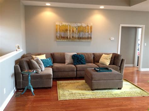 teal yellow gray living room my new living room gray sectional with teal and yellow accents living room ideas
