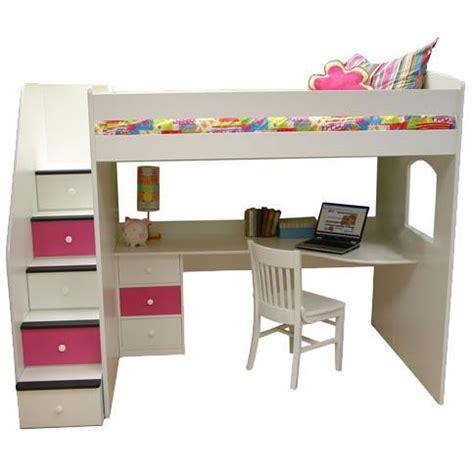 full loft bed with desk teen girls loft bed with desk berg furniture utica full