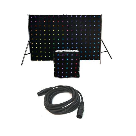 led drape chauvet dj motionset led drape mixing 30 built in pattern