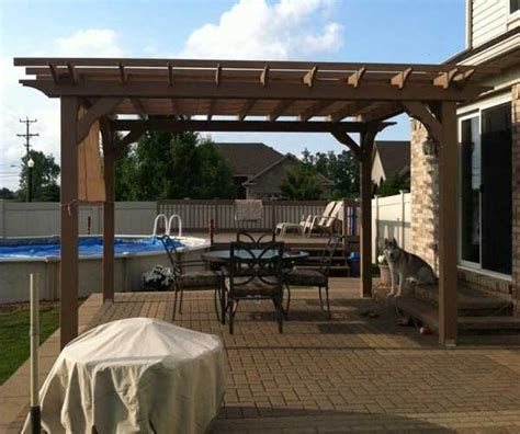 pergola kits wood pergola kits 20 sizes of pergolas