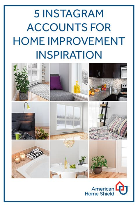 follow these 5 instagram accounts for home improvement