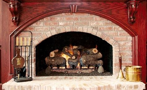 gas logs traditional family room oklahoma city by