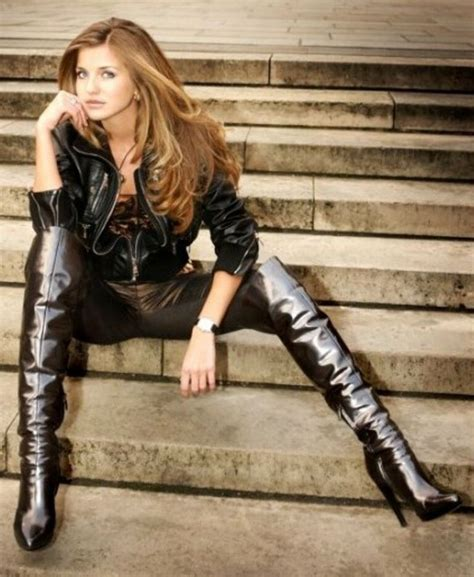 Cutie Boots High Heels 17 best images about iconic black leather on tom ford catsuit and leather jumpsuit