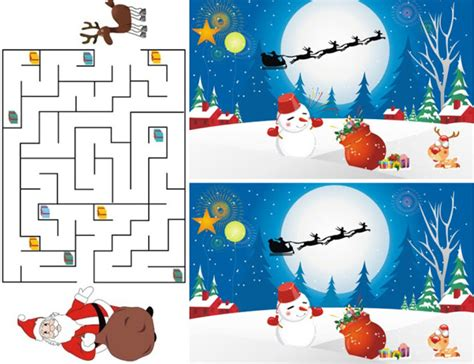 printable christmas games for toddlers free christmas printable activities for the kids