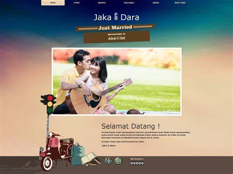 Desain Undangan Pernikahan Vespa | undangan pernikahan online desain undangan nikah online