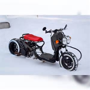 Honda Ruckus Honda Ruckus In The Snow Gy6 Bikes Scooters