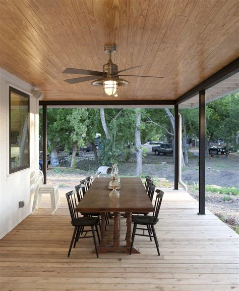 Patio Furniture Lighting Outdoor Patio Ceiling Fans Patio Traditional With Wood Ceiling Green Pillows Transom Windows