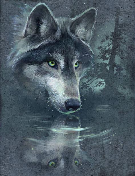 wolf reflection  antonia neshev decalgirl