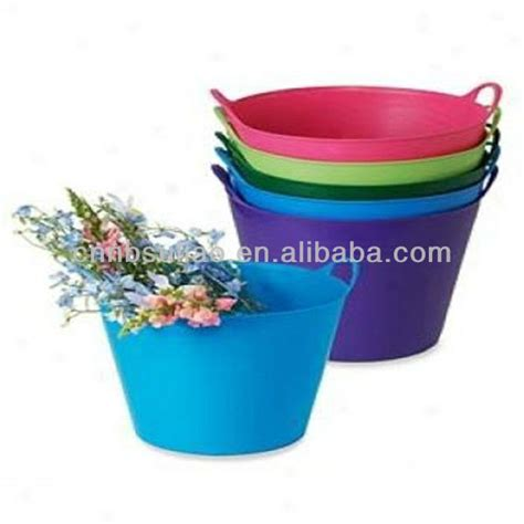 flexible bathtub flexible plastic garden tub plastic tub wholesale 25l buy colorful plastic tubs