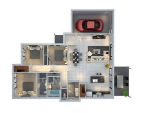 3 bedroom floor plans with garage 3 bedroom house with garage plan interior design ideas
