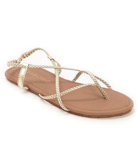 billabong crossing sandal billabong crossing gold sandals