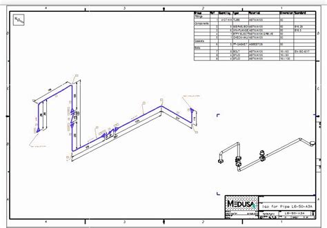 isometric piping diagram automatic piping isometrics from 3d piping designs m4 iso