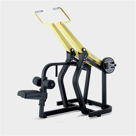 technogym bench press pure strength pulldown plate loaded technogym