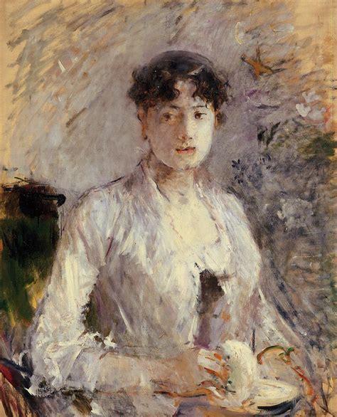 La Berthe Morisot by Berthe Morisot 1841 1895 Hayang Modol