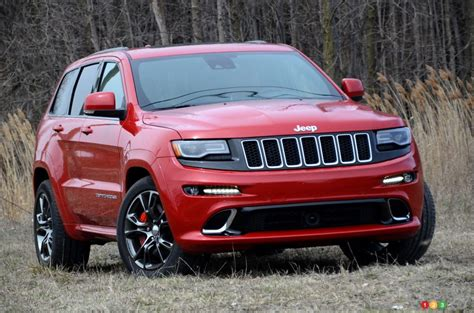 2016 jeep grand road 2016 jeep grand srt road test car auto123