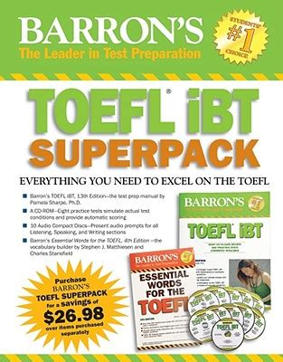 Kunci Sukses Toefl Ibt Cd Audio Js 楽天ブックス barron s toefl ibt superpack with cdrom and 10 audio compact discs j sharpe