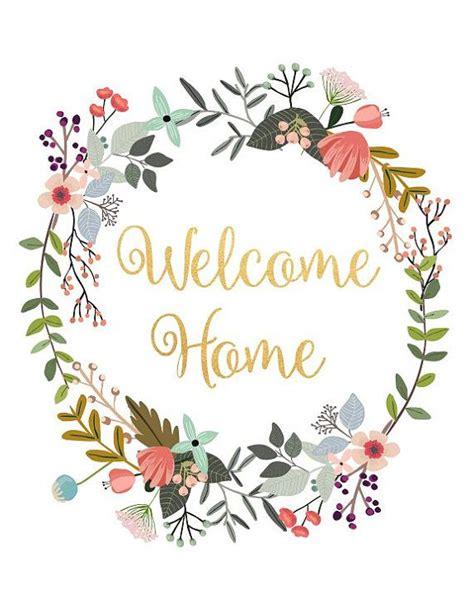 home printable art typography print floral
