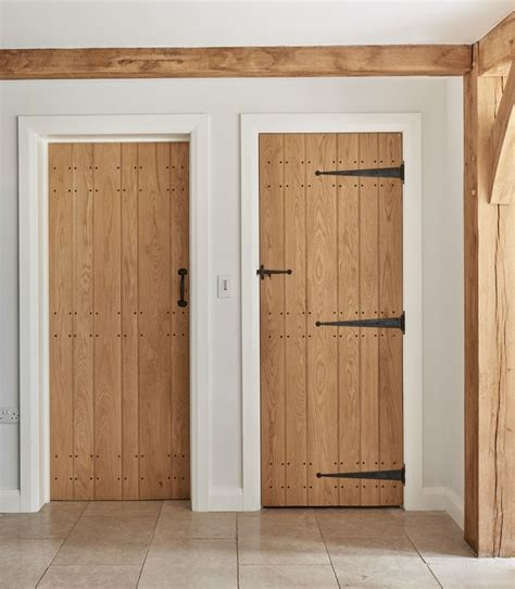 Interior Skirting by Oak Ledge And Boarded Doors With Painted Architrave And