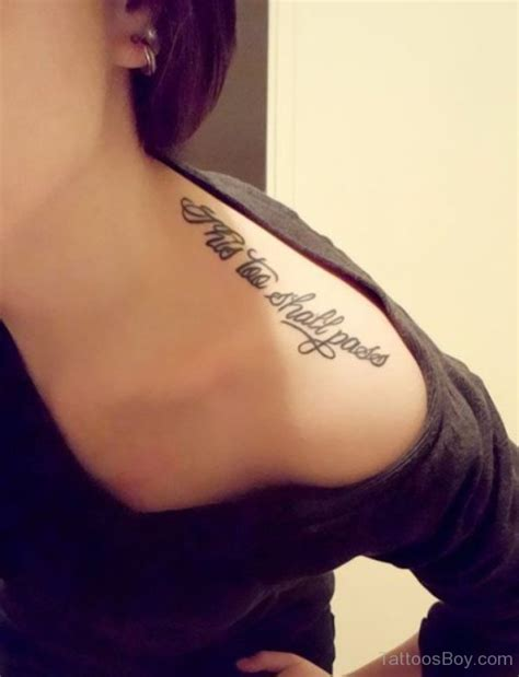 word shoulder tattoo designs shoulder tattoos designs pictures page 30