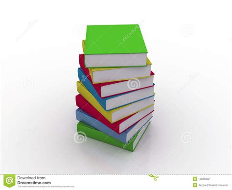 multi books multi colored books stock photography image 13015822