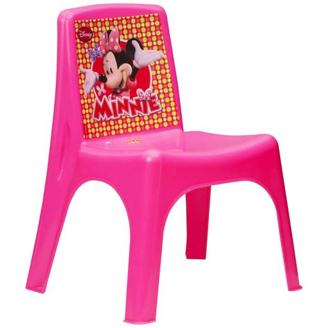 disney minnie mouse plastic toddler disney preschool chair plastic red blue pink elsa anna