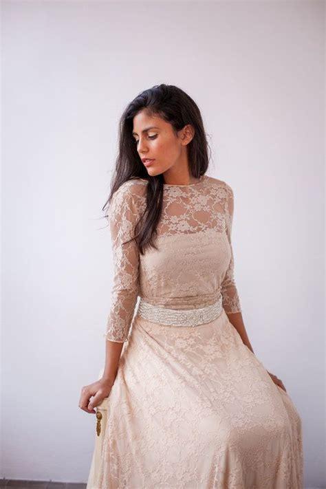Spitzenkleid Hochzeitskleid by Romantische Hochzeitskleid Elfenbein Spitzenkleid