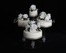Wedding Tier Cake Stand by 4 Tier Cascade Wedding Cake Stand Style R406 Ebay