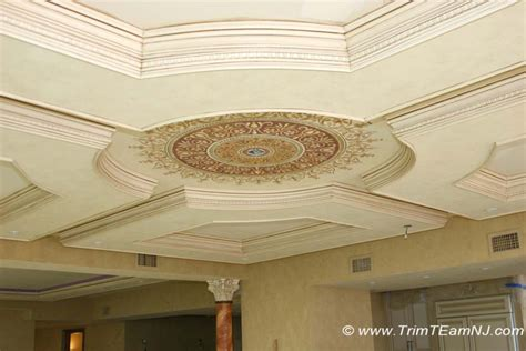 Home Design Center Howell Nj by Coffered Ceilings And Beams Trim Team Nj Woodwork