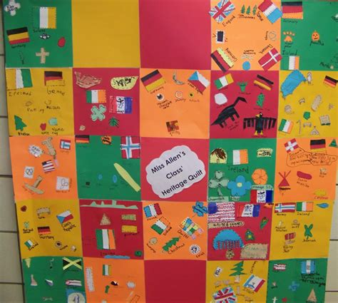 Heritage Quilt by Grinnell Newburg Elementary Heritage Quilt