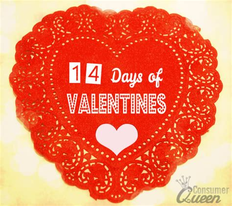 14 days of valentines ideas for 14 days of valentines day 14