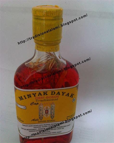 Minyak Urut Tradisional Dayak minyak dayak obat tradisional dan alami tanpa zat kimia