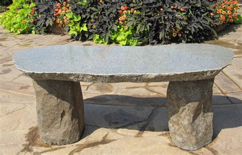 memorial garden benches stone boulder memorial bench stone age creations